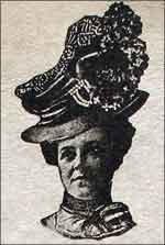 Woman's hat in the 1900's