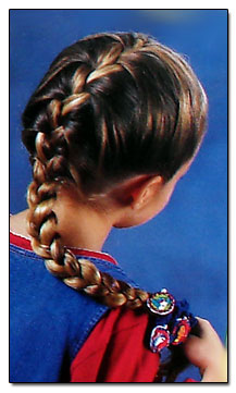 How To French Braid Your Hair Step By Step Instructions