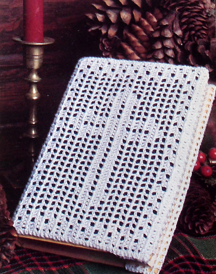 Book Cover Crochet Instructions : Crochet a cross bookmark easy craft