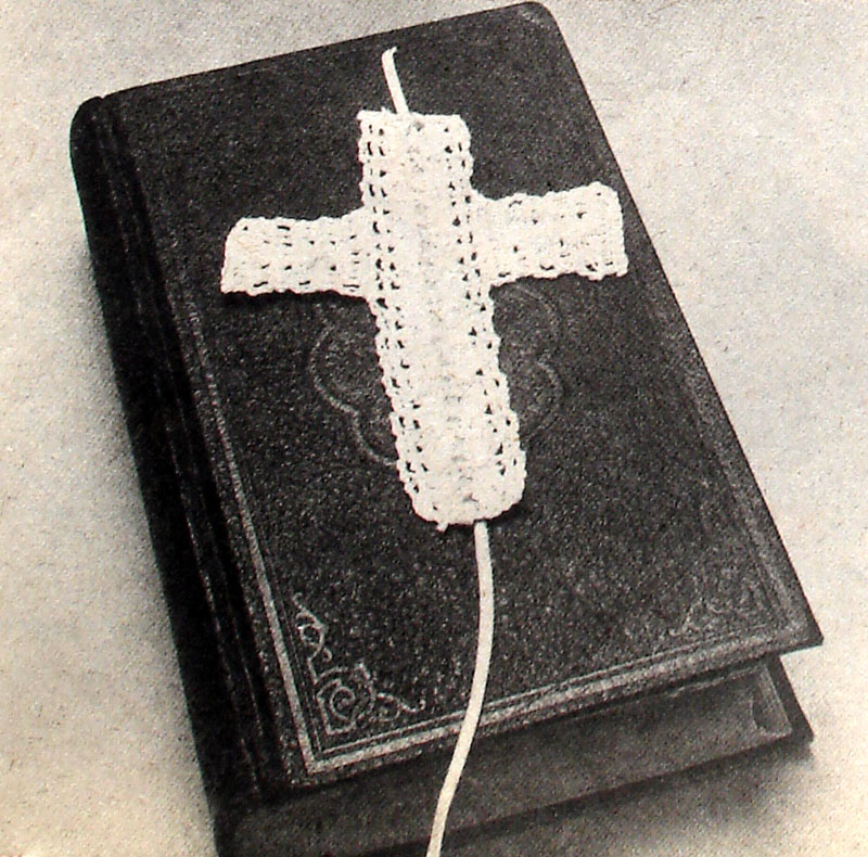 Crochet A Cross Bookmark Easy Craft