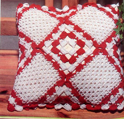 Crochet a Christmas Pillow Cover