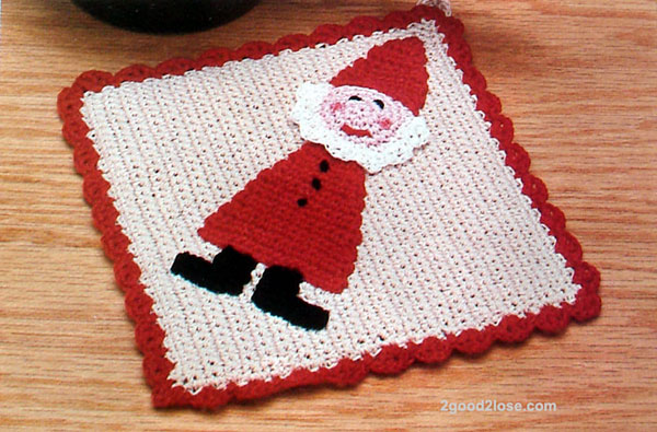 Crochet a Potholder - Easy Tutorial w pictures