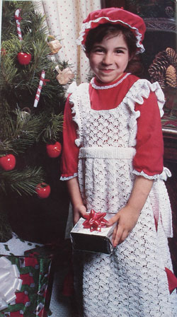 Crochet a Child's Pinafore