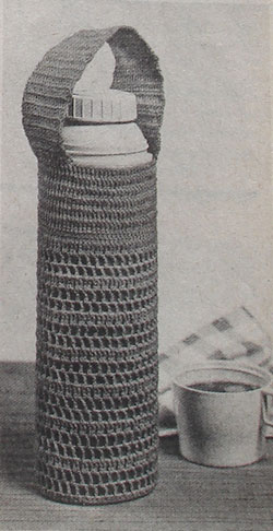 Crochet a Thermos Bottle Carrier