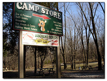 Lake Rudolph campstore sign