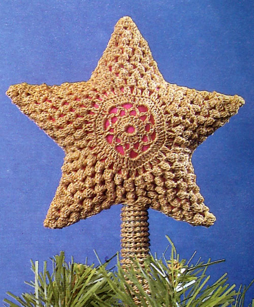 Crochet Fancy Christmas Ornaments Snowflakes And Decorations For