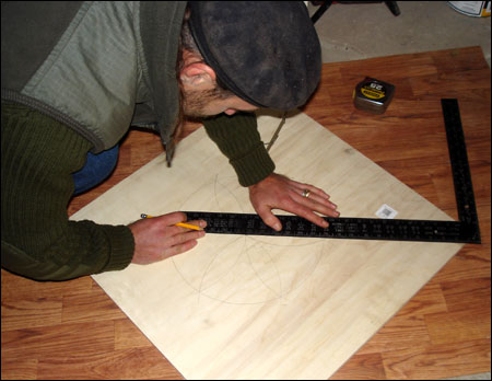 Make a plywood template