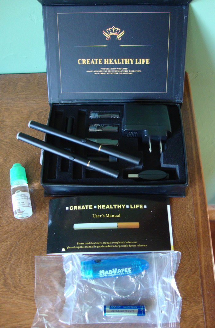 Quitting smoking and electronic cigarettes