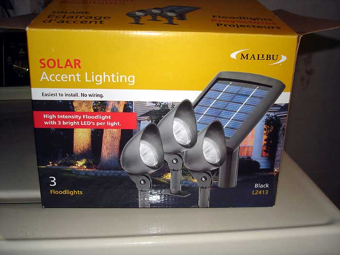 outdoor solar lights inside our house